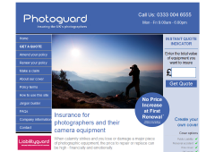 Photoguard Camera Insurance